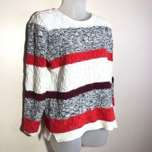 Medium Old Navy Striped Sweater